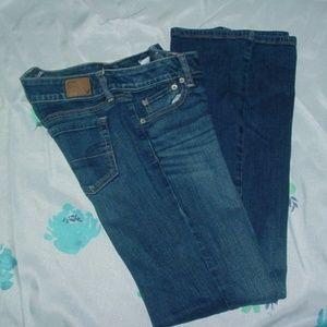AMERICAN EAGLE Super Stretch Artist Jeans Size 8